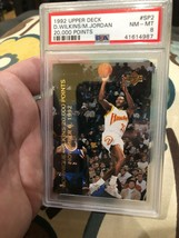 1992 Upper Deck 20,000 Points #SP2 Michael Jordan w/ Dominique Wilkins PSA 8 - $13.72