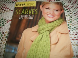 Scarves: 10 Designs Made With The Knook - $5.00