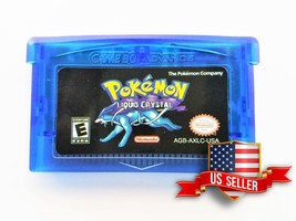 Pokemon Liquid Crystal  (USA Seller) Nintendo GBA Gameboy Advance (v3.3.... - $15.58