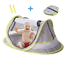 Baby Tent for Beach - Indoor & Outdoor + UV & UPF Sun Protection with - $38.90
