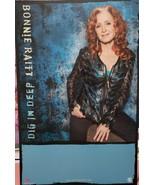 """Bonnie Raitt """"Dig In Deep"""" 11 x 17 Promo Poster  - $9.95"""