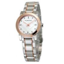 Burberry BU9214 The City Diamond Accent Two Tone Ladies Watch 26 mm - Warranty - $309.00