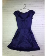 Trashy Diva Liz Dress Navy Blue Size 4 Pinup Retro Rockabilly A-line Fla... - $96.52