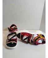 Fashion Nova Multi Color Sandals YFA6047-1 Size 9 New Without Box - $18.68
