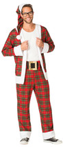 Rasta Imposta Hipster Mr. Claus Santa Adult Mens Christmas Halloween Cos... - $72.19