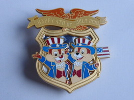 Disney Trading Pins 129119 WDI - Independence Day 2018 - Chip n Dale - $70.13