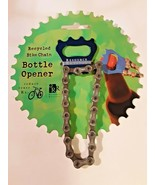 Resource Revival Recycled Bike Chain Bottle Opener biker cyclist gift - $9.89