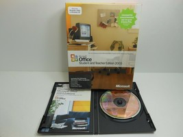 MICROSOFT OFFICE STUDENT AND TEACHER EDITION 2003 - $18.83