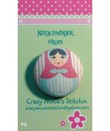 Matryoshka #9 Needleminder fabric cross stitch ... - $7.00