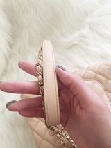100% AUTHENTIC CHANEL 2017 CAVIAR QUILTED MINI COCO HANDLE FLAP BAG BEIGE GHW image 10