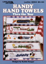 Handy Hand Towels Thru the Year Leaflet 3004 Jan. thur Dec. NOS - $5.95