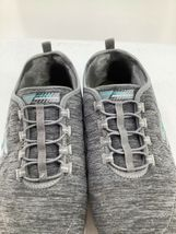 Skechers 9.5 Shoes Air Cooled Memory Foam SN23315 Grey Athletic image 11