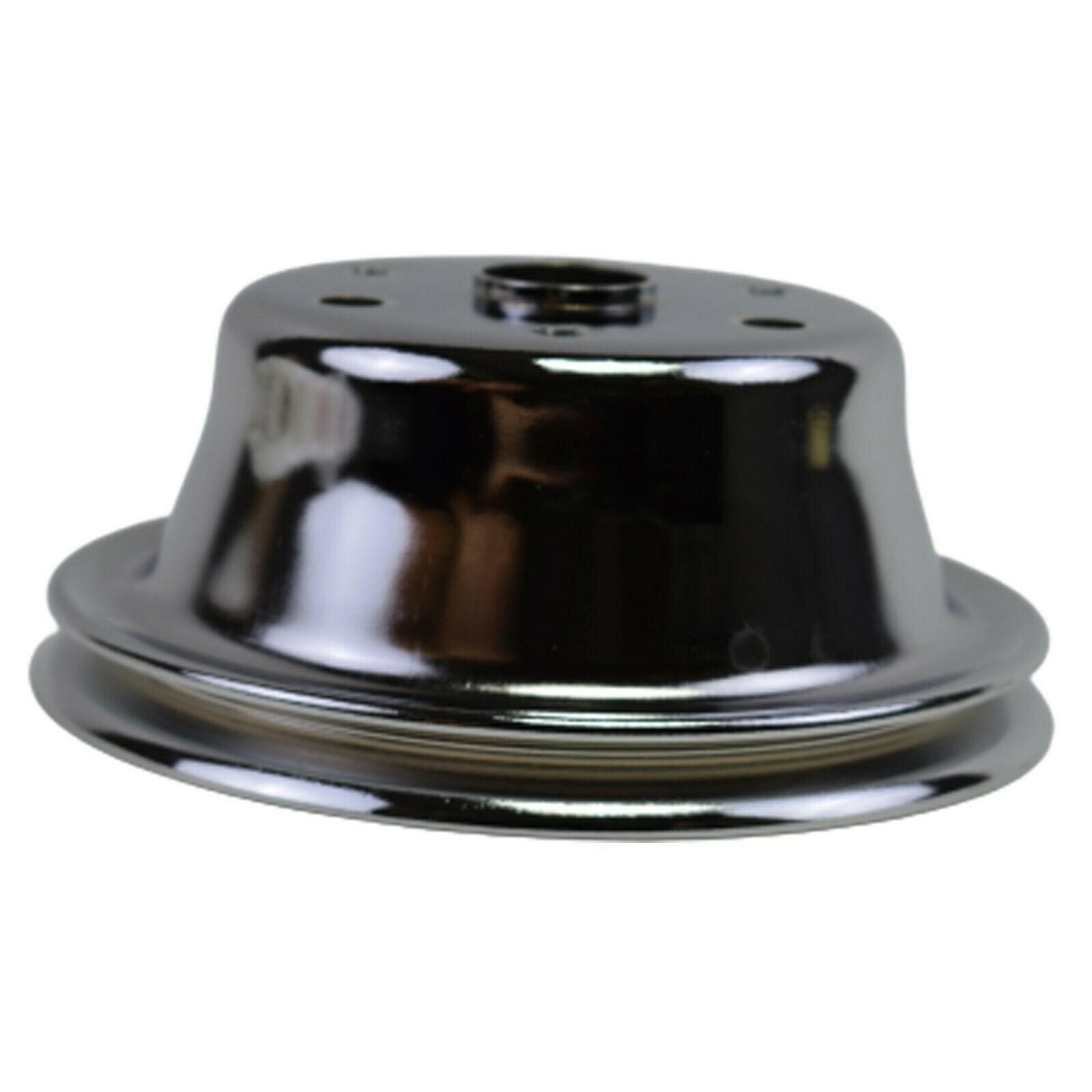Crankshaft Pulley Single-Groove LWP Long Water Pump For Chevy SBC 262 307 400