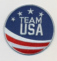 """Team USA Embroidered Iron-On Patch Size 2 3/4"""". USA Winter Olympics - US... - $9.95"""