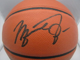 MICHAEL JORDAN / NBA HALL OF FAME / AUTOGRAPHED FULL SIZE NBA BASKETBALL / COA image 2