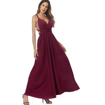 Sexy Women Maxi Club Dress Bandage Long Party Multiway Swing Dresses Con... - $21.99