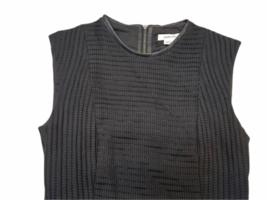 NWT NEW Women Helmut Lang Black Pencil Dress Size 00 image 2