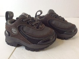 Timberland 13883 Toddlers Lace Ox Brown Waterproof Sneakers Shoes Unisex... - $36.47 CAD