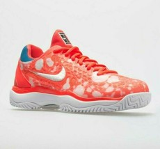 Nike Air Zoom Cage 3 HC Hard Court Tennis Crimson Womens Size 8 AV3910-600  - $87.95