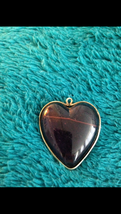 1940's Vintage Jewelry Heart Pin Brooch - $89.99