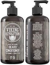 Best Deal Beard Conditioner w/Argan & Jojoba Oils - Softens & Strengthens - Natu image 3