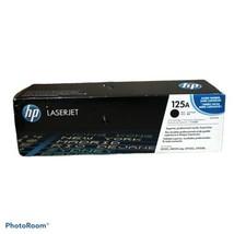 1 New GENUINE OEM HP 125a Laserjet Toner Black Cartridge CB540A Box Damage - $29.60
