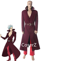 Anime Seven Deadly Sins Ban Cosplay Costume, Fox's Sin of Greed Nanatsu ... - £66.42 GBP