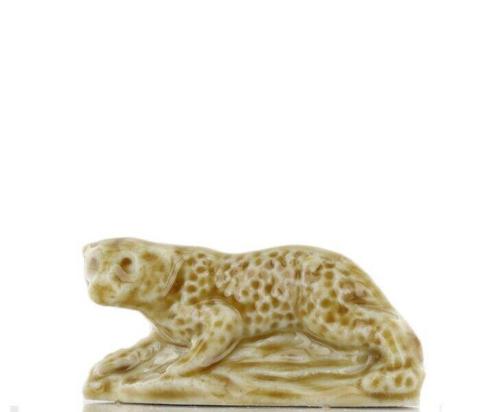 Wade Whimsie Miniature Porcelain Leopard