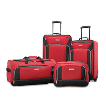 American Tourister Fieldbrook XLT 4 Piece Set Red 92288-1733 - $129.99