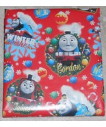AMERICAN GREETINGS THOMAS FRIENDS TRAIN CHRISTMAS Wrapping PAPER 20 SQ FT FOLDED - $3.13
