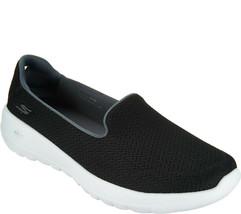 Skechers GO Walk Joy Slip-on Shoes - Radiant Black/White 9.5 M - $39.59