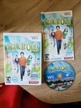 Walk it Out (Nintendo Wii, 2010) Complete. Free Shipping. Rare. Konami - $24.74