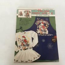 6362 country santa no sew fabric applique by daisy kingdom  peace love joy  - $14.15