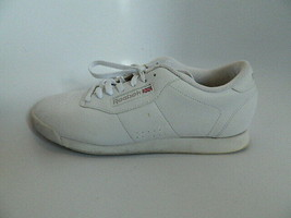 Vintage Old-School style Women's Classic Reebok White Shoes Size 9 Wide D - $49.99