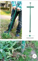 Stainless Steel Stand Up Weeder (Weed Puller)with 3 Claws and Foot Pedal... - $35.52