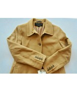 Vintage 100% Wool London Fog Towne Collection Overcoat Camel Color Mediu... - $350.00