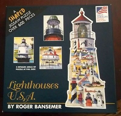 Lighthouse Shaped Puzzle 600 Pieces Great and 50 similar items