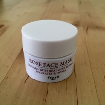 NEW Fresh Rose Face Mask (0.5oz) TRAVEL SIZE - €14,21 EUR