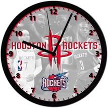 "Houston Rockets LOGO Homemade 8"" NBA Wall Clock w/ Battery Included - $23.97"