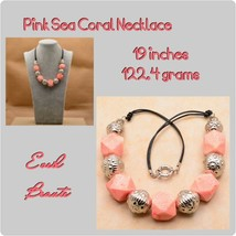 PINK SEA CORAL NECKLACE  - $29.70