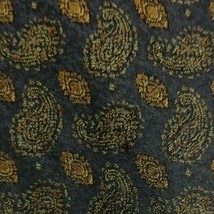 Black Paisley ZEGNA Silk Tie - $9.99