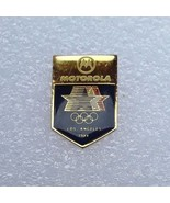 "1984 Los Angeles Olympics LAOOC Sponsor Pin ""Motorola - Stars In Motion""... - $8.90"