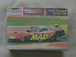 FACTORY SEALED Revell MAD Magazine MAD Firebird Funny Car #85-7657 Jerry... - $29.69