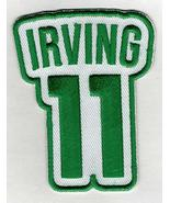 KYRIE IRVING #11 Patch - Jersey Number Green/White Embroidered DIY Sew o... - $6.88