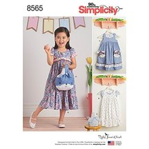 Simplicity Creative Patterns Child's Ruby Jean's Dresses & Purses Patter... - $4.99