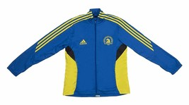 Adidas Boston Marathon 2013 Women's Size L NEW Blue Yellow Official - $399.95