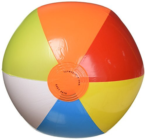 Primary image for Inflatable Beach Balls - 12in (Each) - Party Supplies by Fun Express