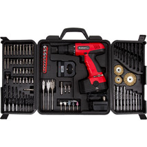Stalwart 75-CD91 18-Volt Cordless Drill with 89-Piece Drill Set - $74.12