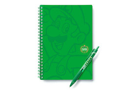 THE YEAR OF LUIGI Note & Ballpoint Set Club Nintendo Limited NINTENDO Un... - $59.74