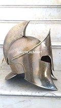 NauticalMart Spartan Antique Brass Medieval 300 Armor Helmet - $139.00